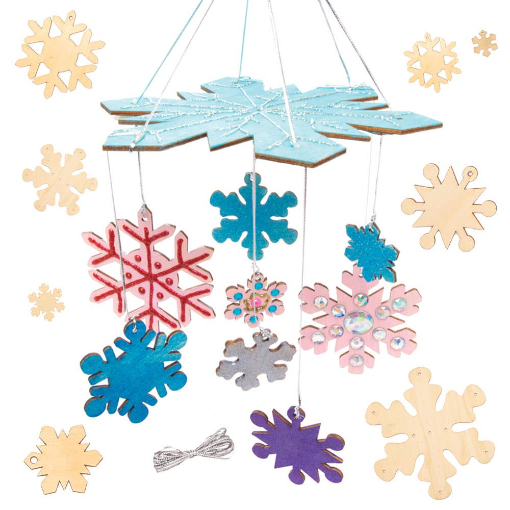 Snowflake Wooden...