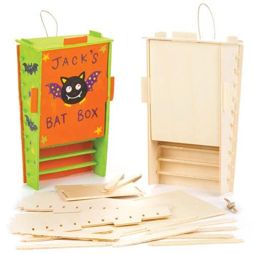 Wooden Bat Box Kits Baker Ross