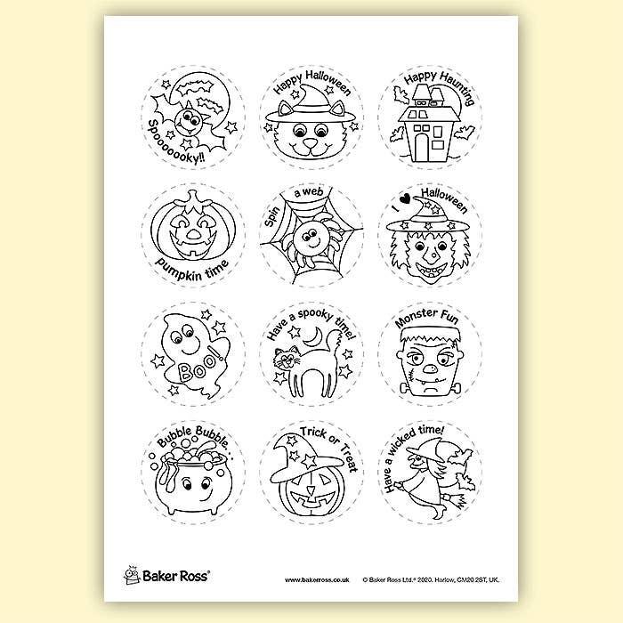 Halloween-Badges