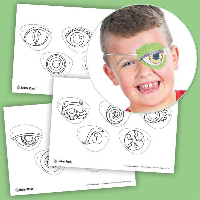 Monster-Eye-Patches