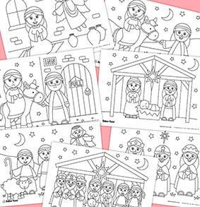Nativity-Story-Printables