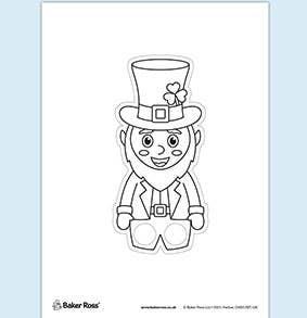Leprechaun Finger Puppet