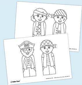 Pirate- Bookmarks