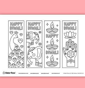 diwali-bookmarks