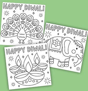 diwalia-greetings-cards