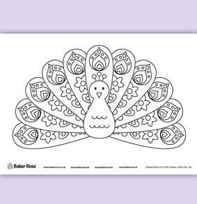 peacock-fan