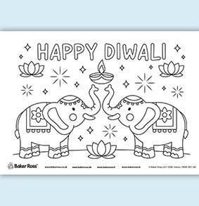 diwali-elephant-Poster