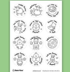 Easter-badges