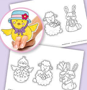 Easter-Finger-Puppets