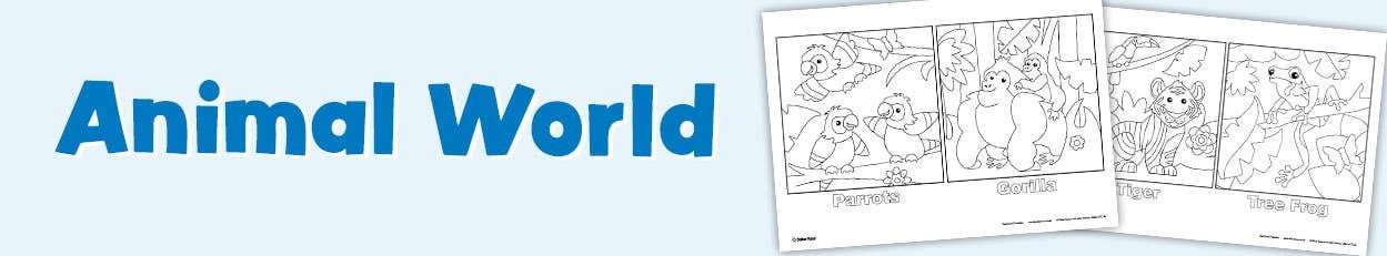 FreePrintables-AnimalWorld