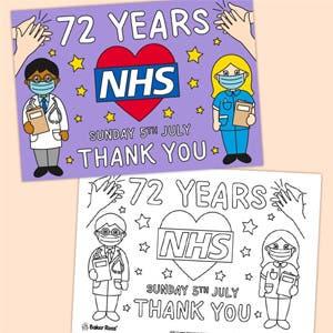 NHS 72 years