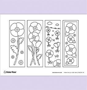 Poppy-Bookmarks