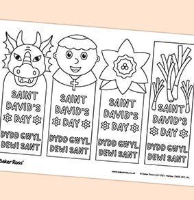St-Davids-Day-Bookmarks