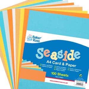 Summer Art Supplies Paper and Card