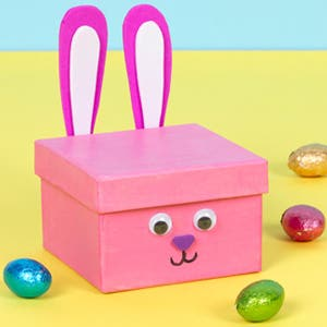 Easter Bunny House Gift Box