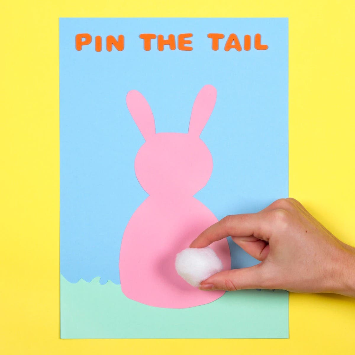 Pin the Tail on the Bunny