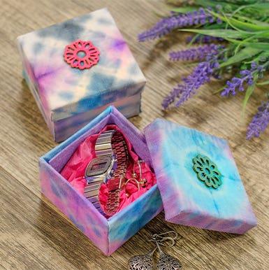 Tie-Dye Gift Boxes