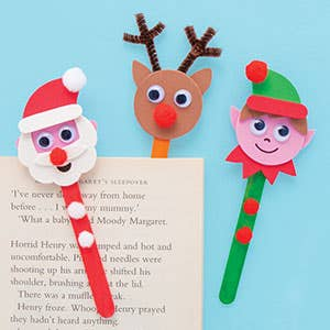 christmas-character-bookmarks