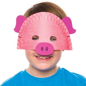 Pig Plate Mask