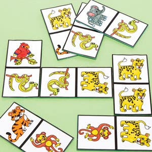 Jungle Animal Dominoes