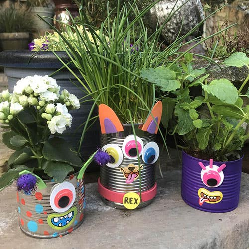 Monster-Can-Planters