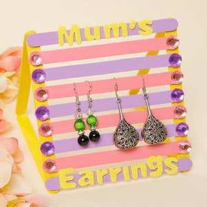 Mums Pop Stick Earring Stand