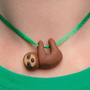 sloth-necklace