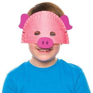 Pig-Plate-Mask
