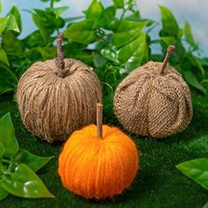 Wrapped Pumpkins